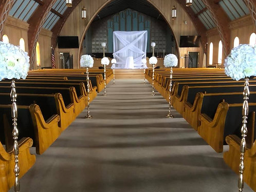 4ft Gold Aisle Markers