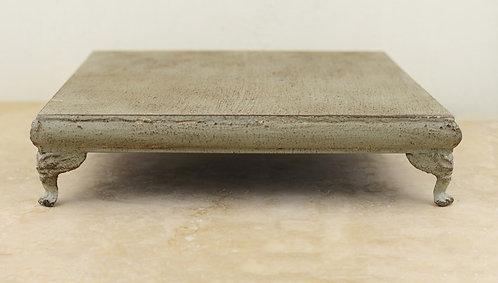 Short Concrete Square Cake Stand