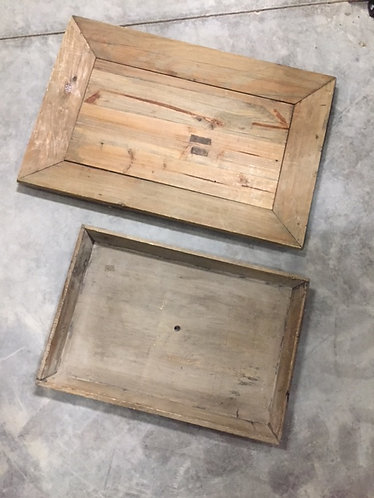 Wood Trays Assorted