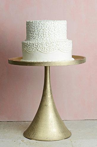 Champ. Pedestal Shimmer Square Cake Stand