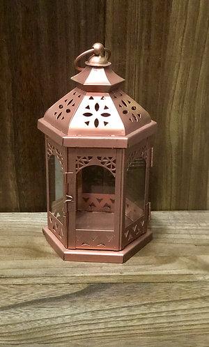Copper Lantern Small