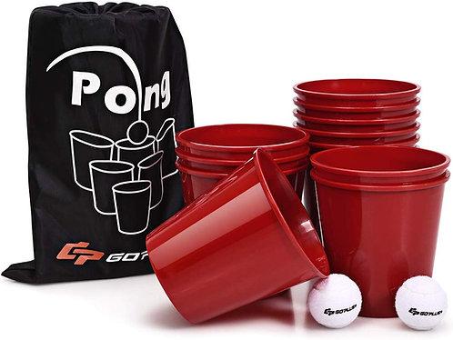 Bucket Pong Yard Game