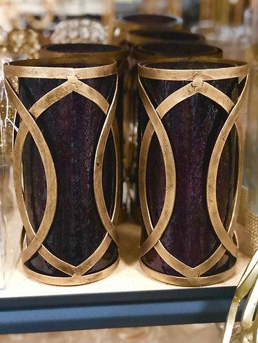 Moroccan Gold Vase