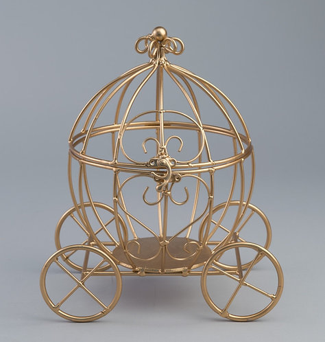 Gold or Silver Pumpkin Carriage