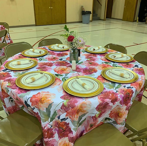 Floral Print Assorted Linens
