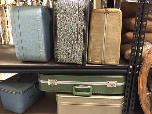 Assorted Suitcases