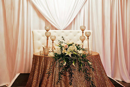 Solid Sequin Linens