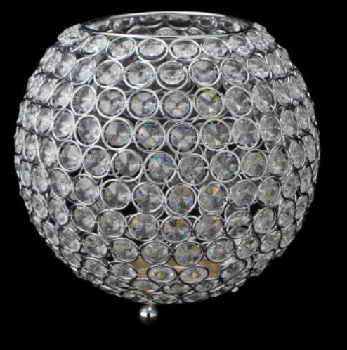 Silver Rhinestone Orb