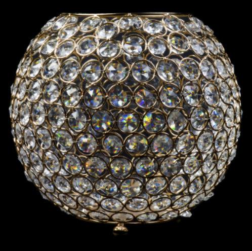 Gold Rhinestone Orb