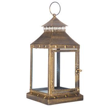 Gold Bronzed Lantern