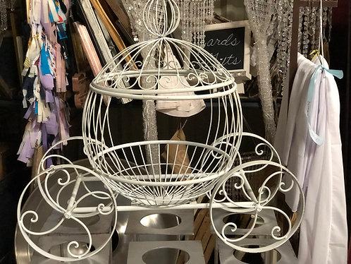 Large White Cinderella Cage