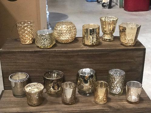Gold Votive Cups