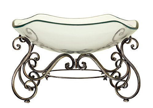 Iron GlassPunch Bowl