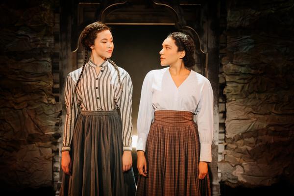 Solea Pfeiffer & Emmy Raver-Lampman as Mary & Martha Clarke