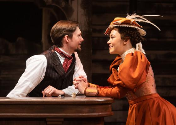 Dan Tracy (Jesse) & Solea Pfeiffer (Mary)
