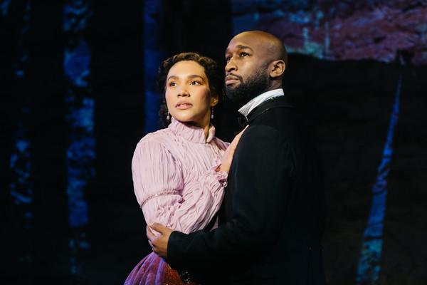 Emmy Raver-Lampman (Martha) & Donald Webber (Elijah)