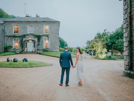 Deborah and Keith say 'I do' at the magnificent Millhouse Wedding Venue