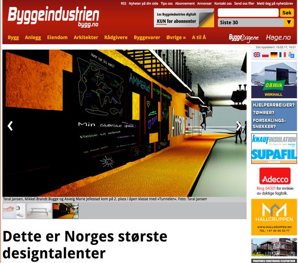 Bygg.no | Dette er Norges største designtalenter