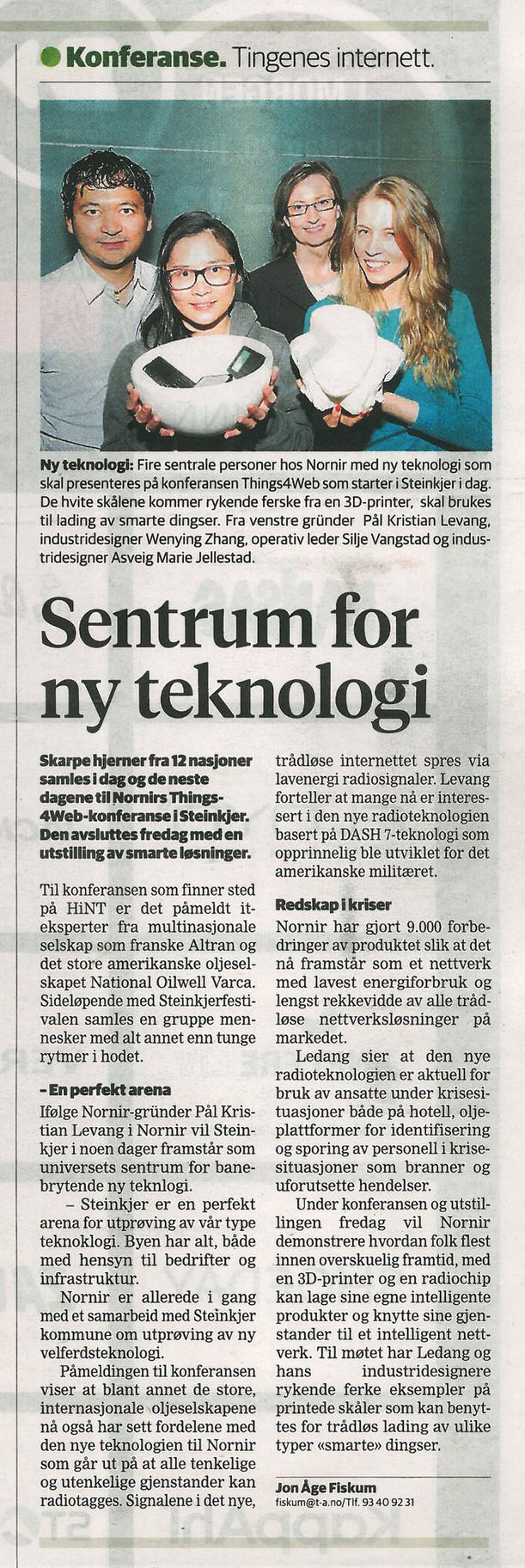 Trønder-Avisa | Sentrum for ny teknologi