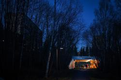 AmmerudTunnelen by night