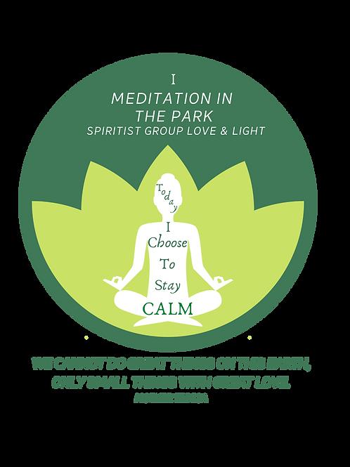 T-Shirt Meditation Medium