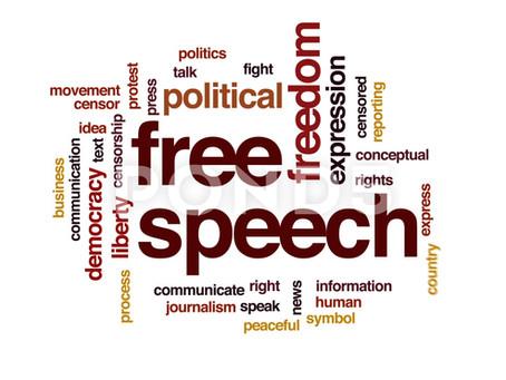 Ytringsfrihed og et budskab om fred