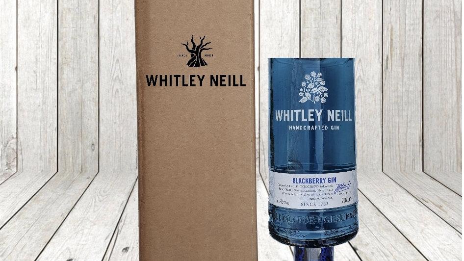 Whitley Neill Blackberry Bottle Gift Box Set Upcycled Glass handmade