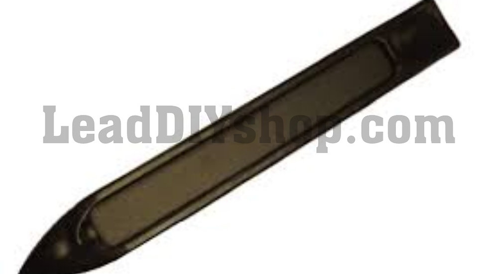 Self adhesive lead boning tool for finishing and sealing the edges