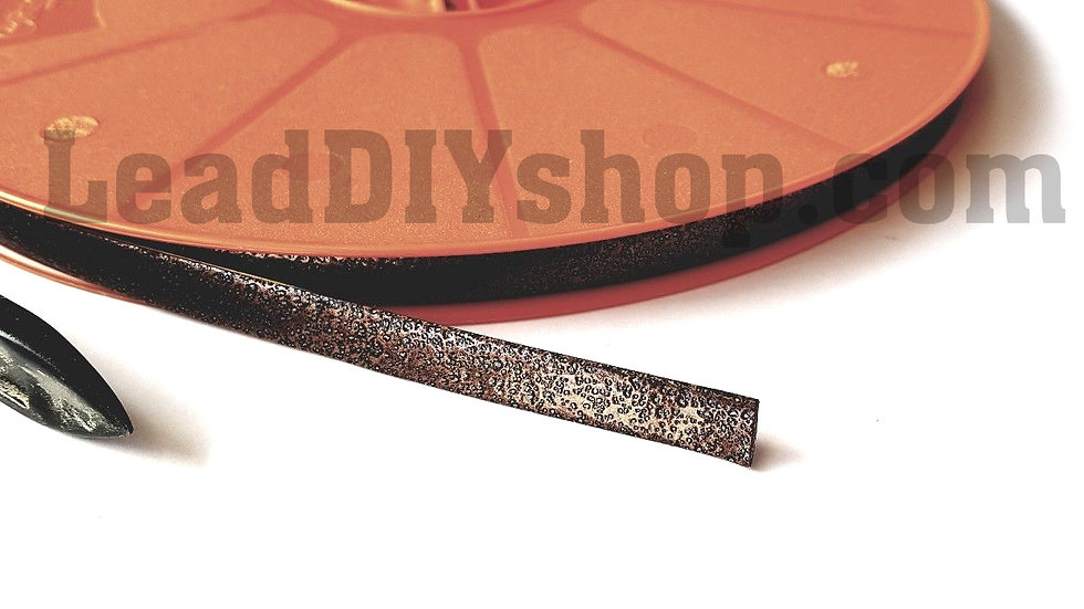 Antique Copper self adhesive lead strip window lead