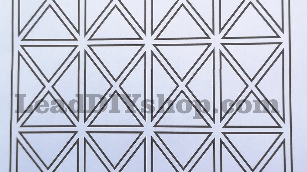 Leading templates 100mm x 130mm grid size