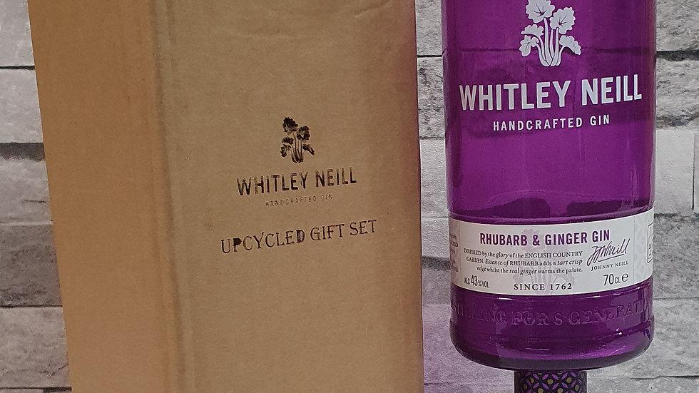 Whitley Neill Gin Bottle Gift Box Set Upcycled Glass handmade