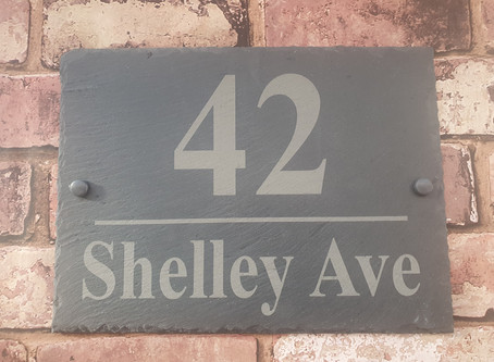 House and Garden signs