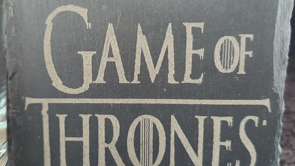 Game of Thrones Slate coasters 10cm x 10cm