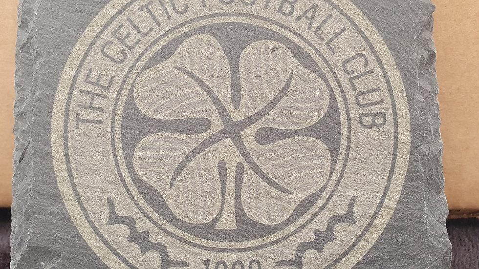 Football Club Slate coasters 10cm x 10cm