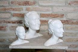 3 tailles de sculpture 3D (côté droit)