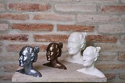 3 tailles de sculpture 3D (côté gauche)