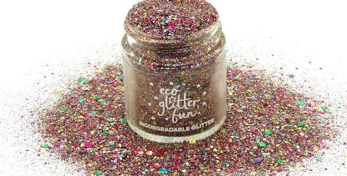 rainbow blend biodegradable glitter