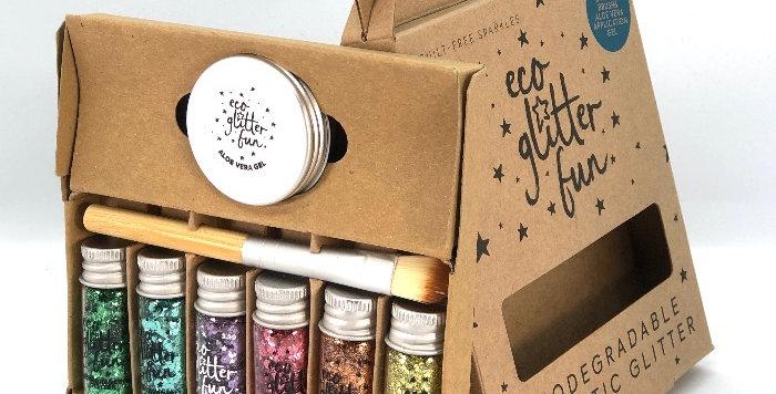 Pastel Uber Disco kit of biodegradable glitter