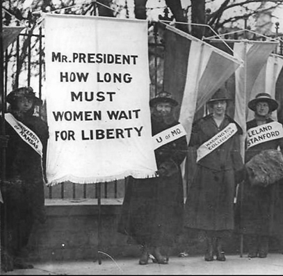 Early 20th Century suffragists