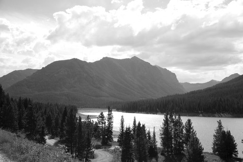 B&W Mountain Beauty