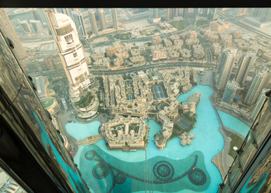 Burj Khalifa Looking Down