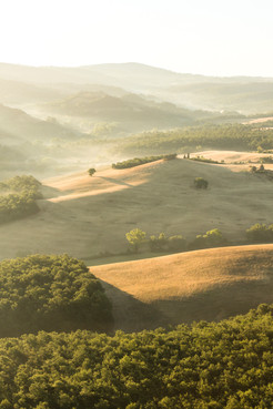 Flying High in Tuscany