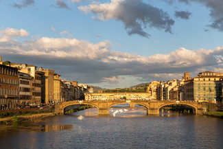 Golden Hour in Florence