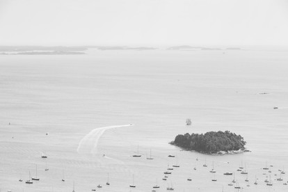 Curtis Island BW