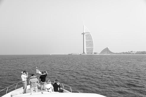 Burj Al Arab by Boat