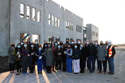 Frisco Medical Village Construction and team members