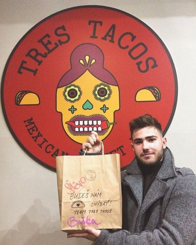 Tres Tacos ide do Prahy 👉🏻 #laskanaprv