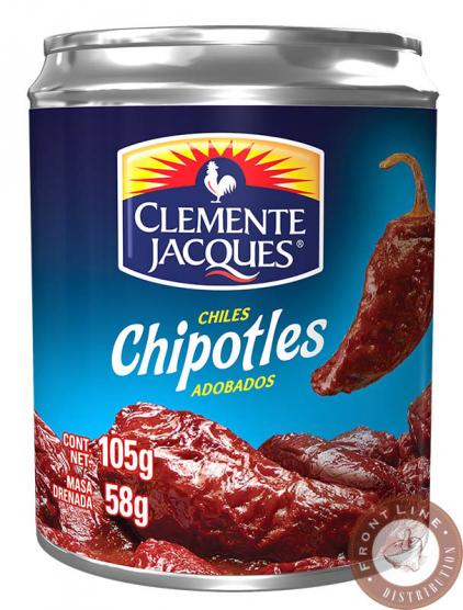 Nakladané papriky chipotle 105g