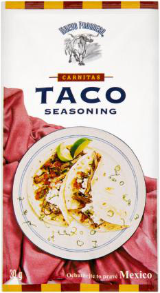 Taco - korenie