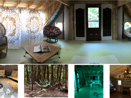 ECLECTIC TREEHOUSE RESORT IN THE LAURENTIANS, QC